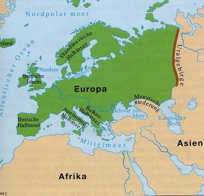 Europa Verliert Vier Millionen Quadratkilometer Kritisches Netzwerk