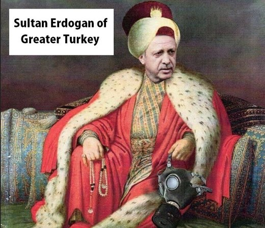 Sultan Erdogan of Greater Turkey