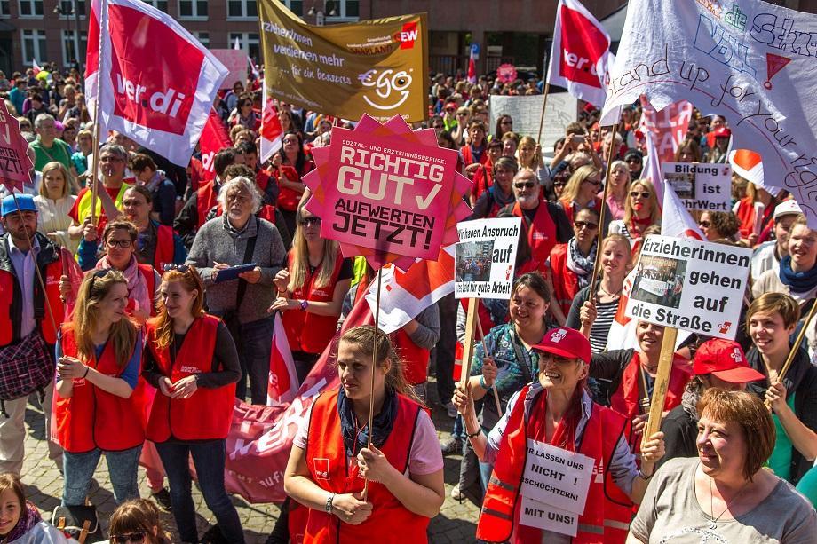 Pflege Streik