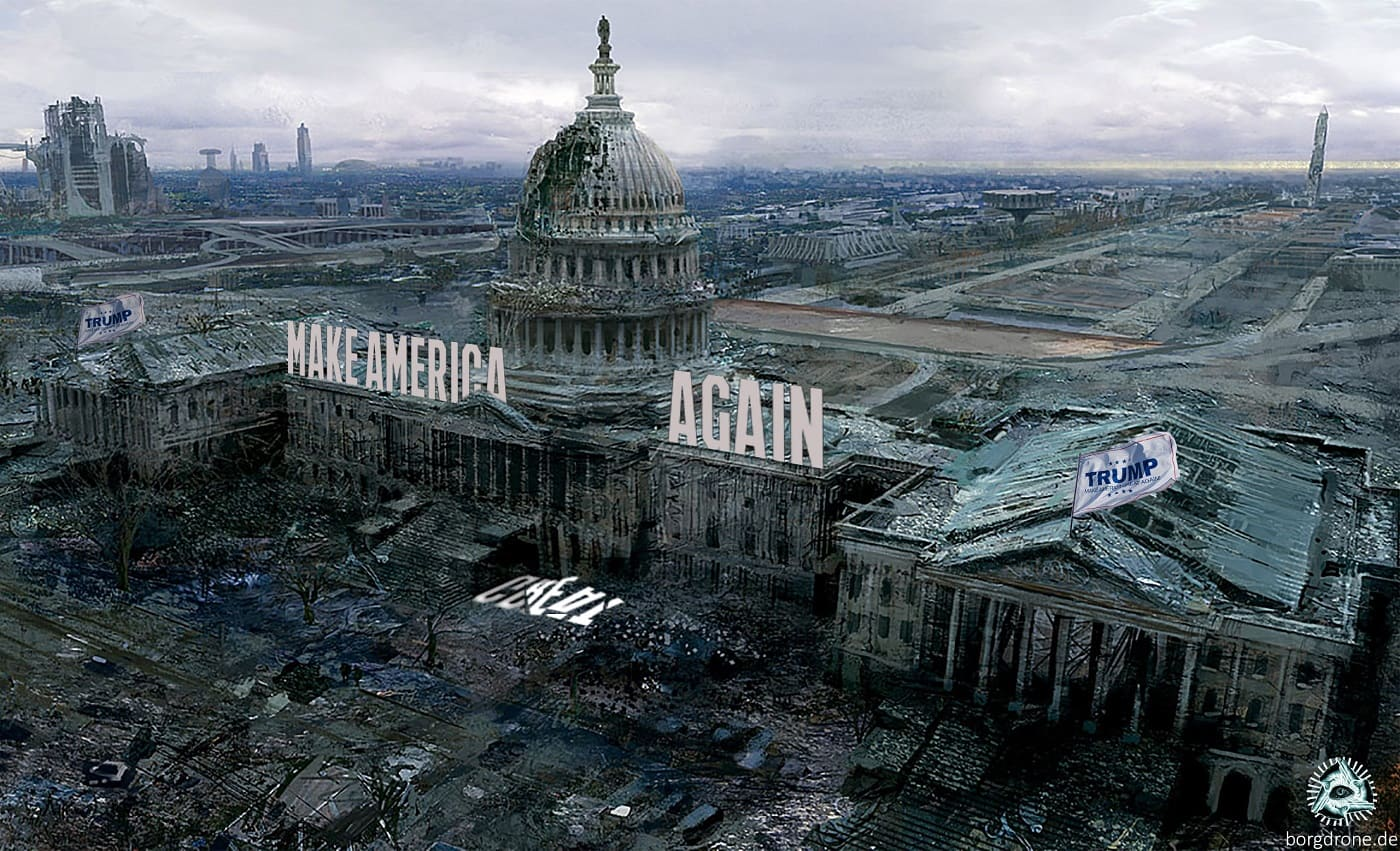 Dystopia-Dystopie-Make-america-great-again-Trump-White-House-Washington-collapse-Kritisches-Netzwerk-Trumpaggedon-Armageddon-Harmagedon-Harmageddon-Katastrophe-destruction