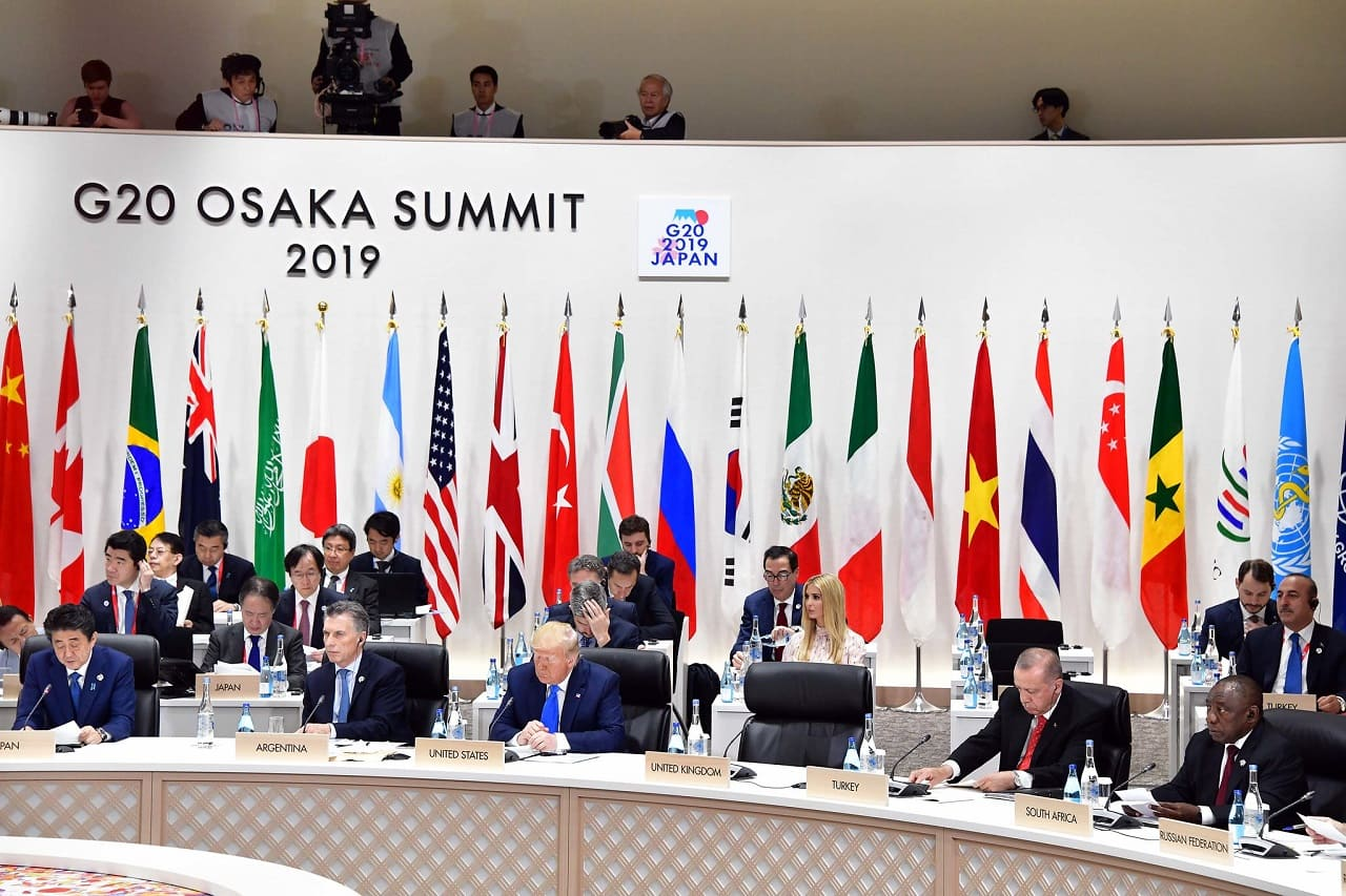 G20-2019-Leaders-Summit-Osaka-Japan-Donald Trump-Xi Jinping-Gipfelpropaganda-Weltregierung-Weltregime-Kritisches-Netzwerk-Freihandelsabkommen-Freihandelszone