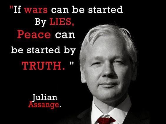 ulian-Assange-if-wars-can-be-started-by-lies-truth-Kriegsluegen-Imperialismus-Kritisches-Netzwerk-Whistleblower-WikiLeaks-Spionage-Act-Staatsfeind-extradition-request