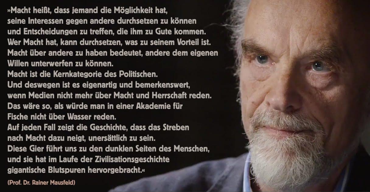 Rainer-Mausfeld-Eliten-Elitendemokratie-Warum-schweigen-die-Laemmer-Kritisches-Netzwerk-Neoliberalismus-Herrschaftssystem-Leitmedien-Machteliten-Nutzmenschhaltung-Scheindemokratie