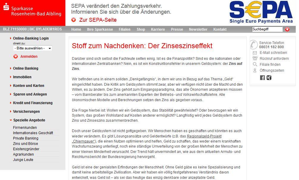 Quelle Sparkasse Rosenheim Bad Aibling Stoff Zum Nachdenken Der Zinseszinseffekt Weiter